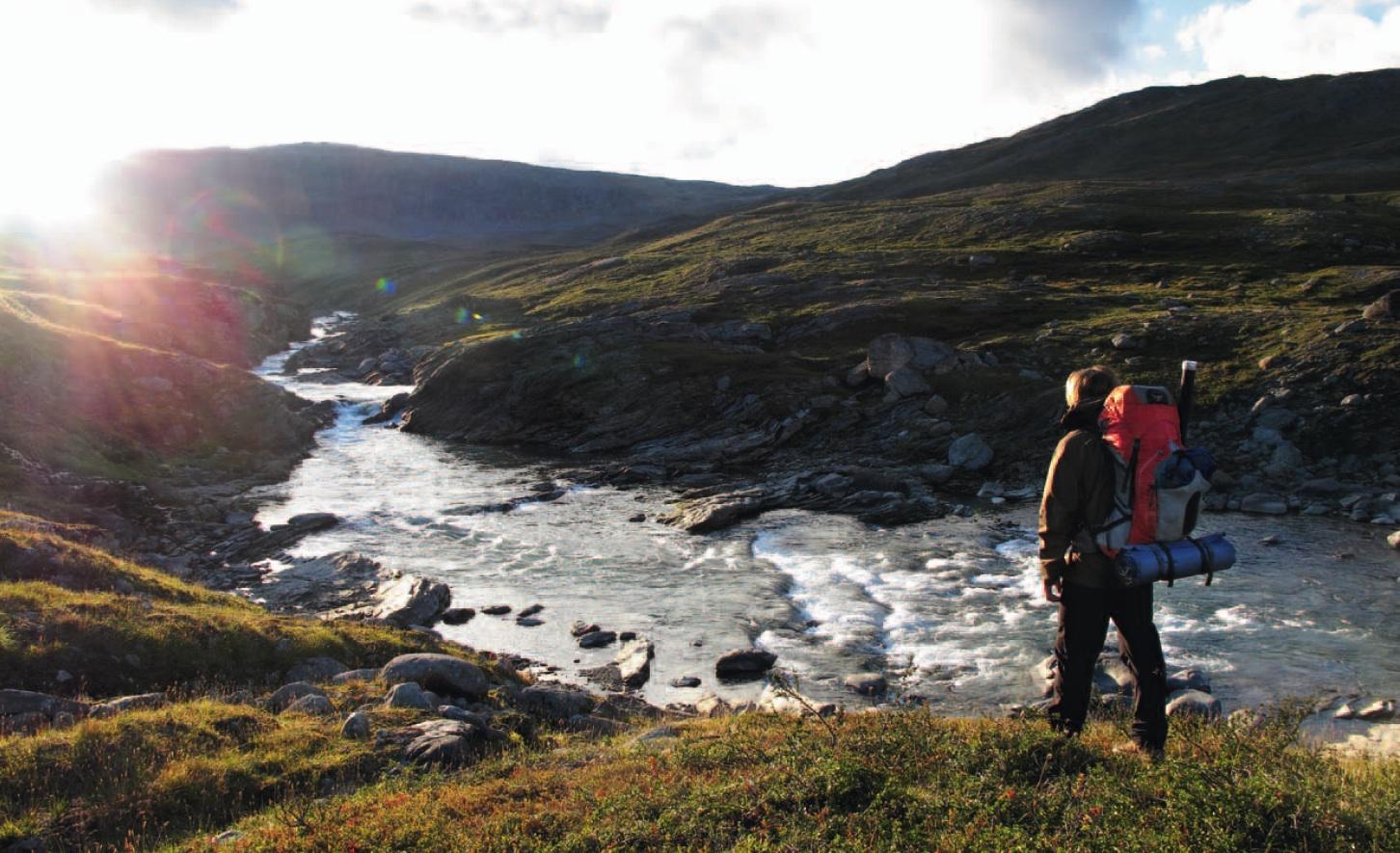Hakan Stenlund Fluss Wanderer
