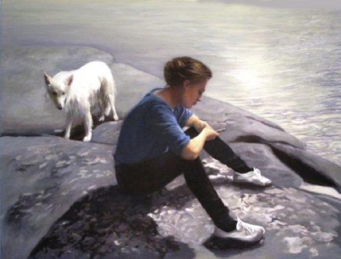 Der weiße Hund II Karin Broos