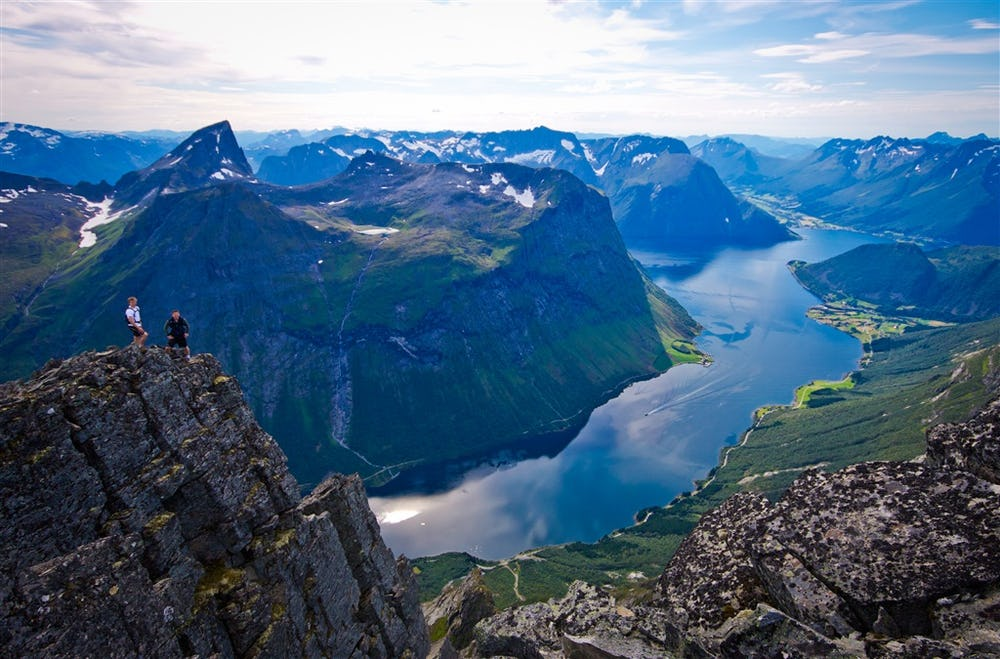 Hjorundfjorden, visitnorway.com, Innovation Norway - Havard Myklebust