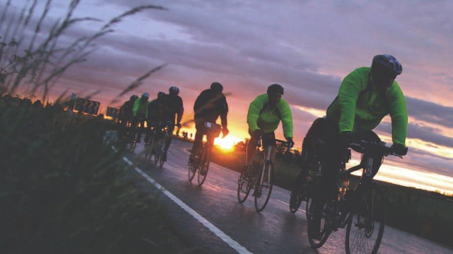 Ein schwedischer Klassiker: Vätternrundan- 300 Kilometer Radfahren.