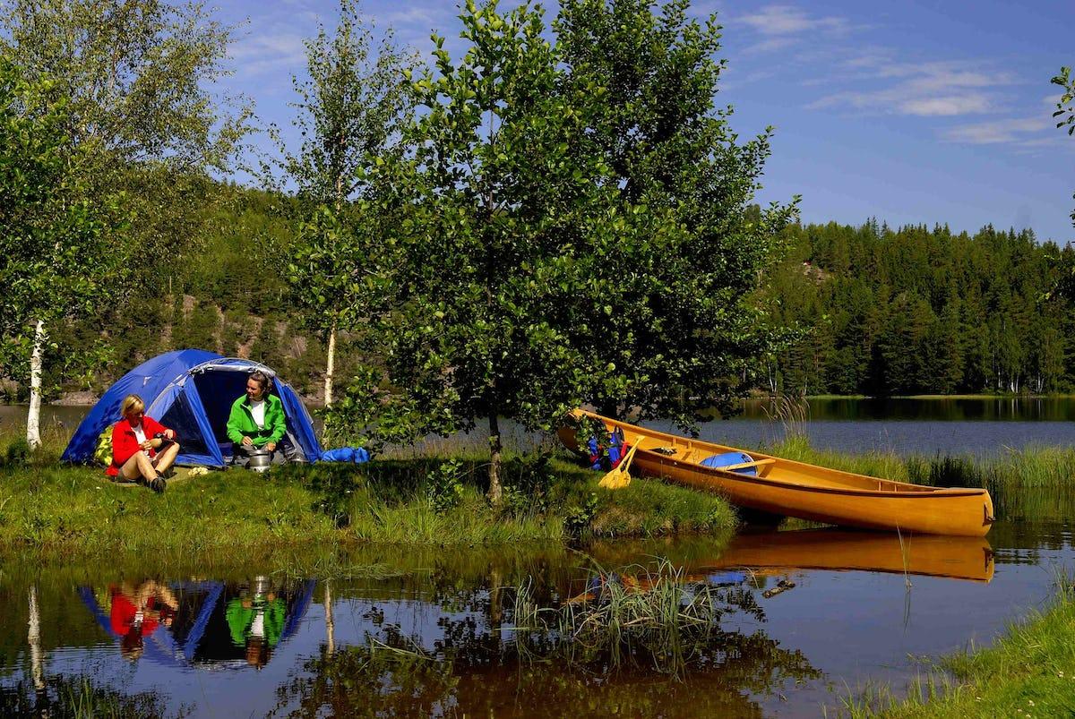Camping in Schweden: 5-Sterne-Campingplätze entdecken - NORR