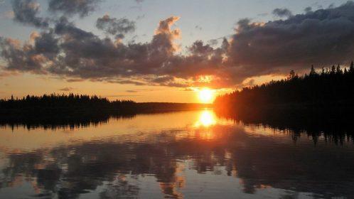 Kuvagalleria yötön yö Lappi 29.6.2011