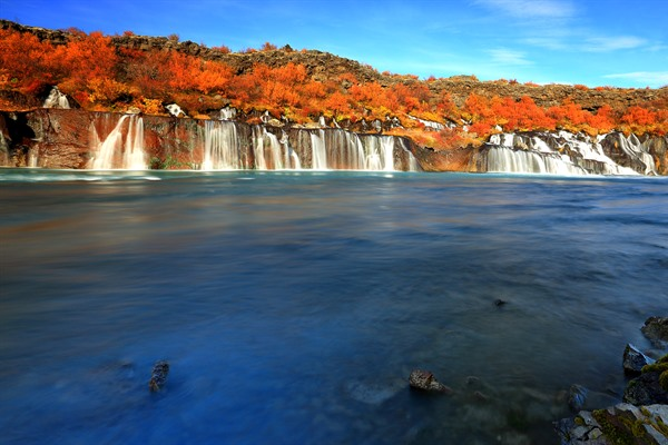 hraunfossar-island-west-is