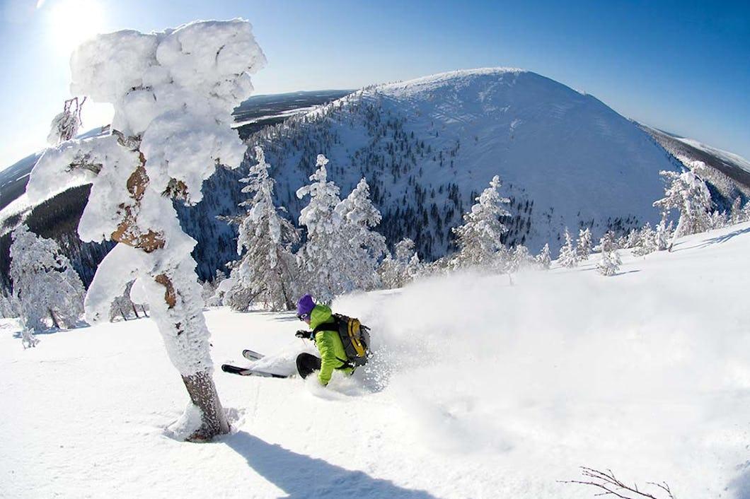 Pyhä Downhill Skiing